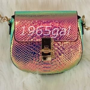 Handbags - Color-changing NEW Unicorn Holographic Chain Purse
